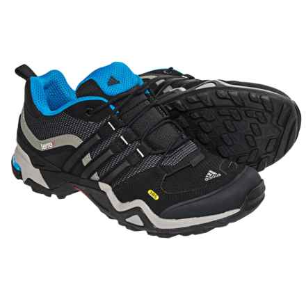 adidas outdoor Terrex Fast X Hiking Shoes (For Women) in Carbon/Black/Solar Blue - Closeouts