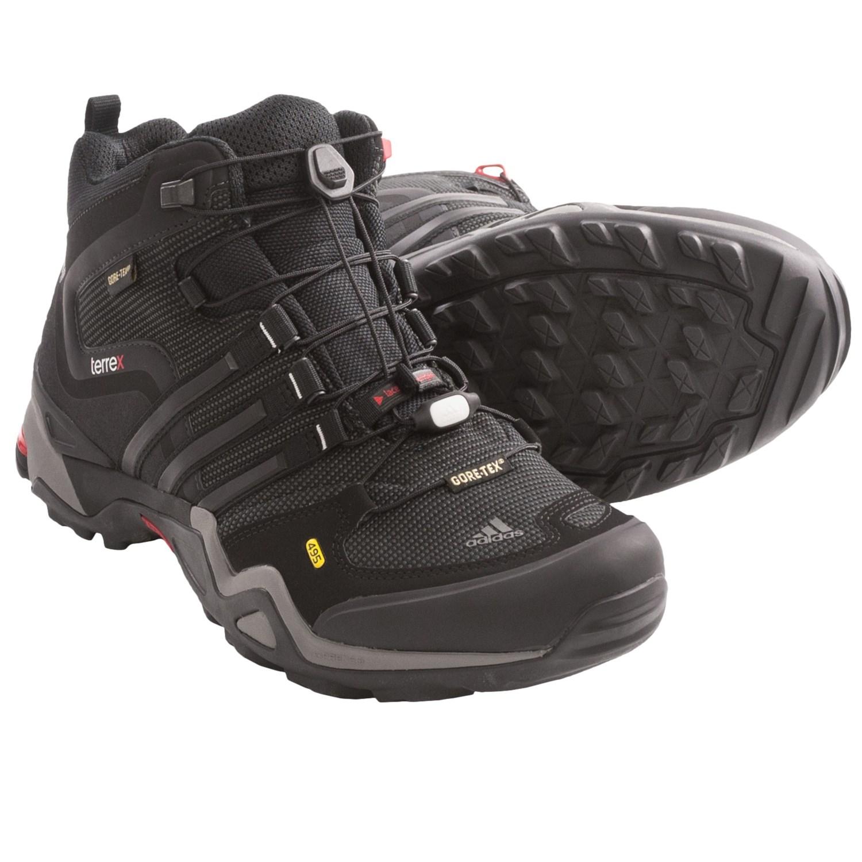 Adidas Outdoor Terrex Fast X Mid Gore Tex Hiking Boots Waterproof
