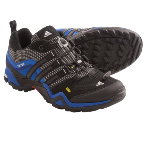 Adidas Outdoor Terrex Fast X Trail Shoes (For Men) in Black/Core Energy