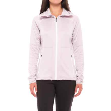 adidas outdoor Terrex Flex Fleece Hoodie - Full Zip (For Women) in Ice Purple - Closeouts