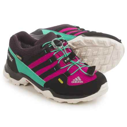 adidas outdoor Terrex Gore-Tex® Shoes - Waterproof (For Kids and Youth) in Bold Pink/Black/Shock Mint - Closeouts