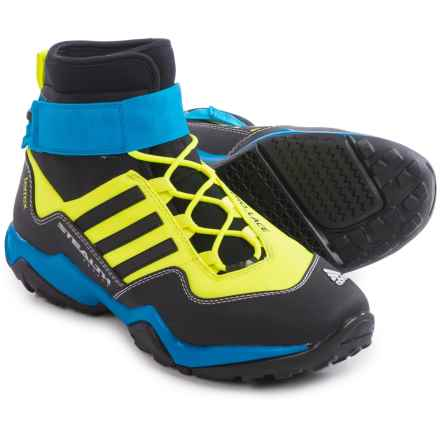 adidas outdoor Terrex Hydro Lace Water Boots (For Men) in Solar Yellow/Black/Shock Blue - Closeouts