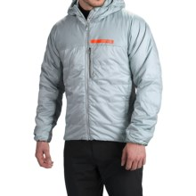 adidas outdoor terrex Ndosphere Hooded Jacket - Insulated (For Men) in Clear Grey/Vista Grey - Closeouts