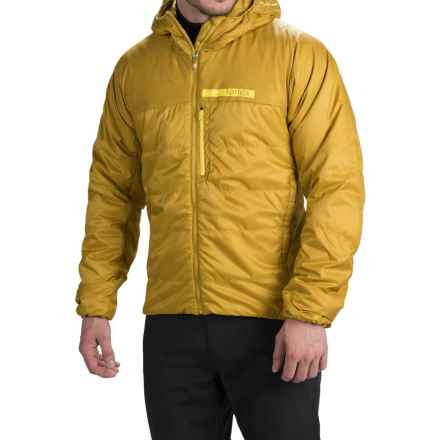 adidas outdoor terrex Ndosphere Hooded Jacket - Insulated (For Men) in Raw Ochre - Closeouts
