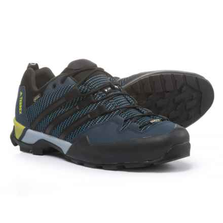 adidas outdoor Terrex Scope Gore-Tex® Hiking Shoes - Waterproof (For Men) in Core Blue/Black/Collegiate Navy - Closeouts