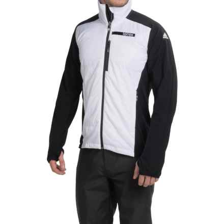 adidas outdoor Terrex Skyclimb PrimaLoft® Jacket - Insulated (For Men) in Black/White - Closeouts