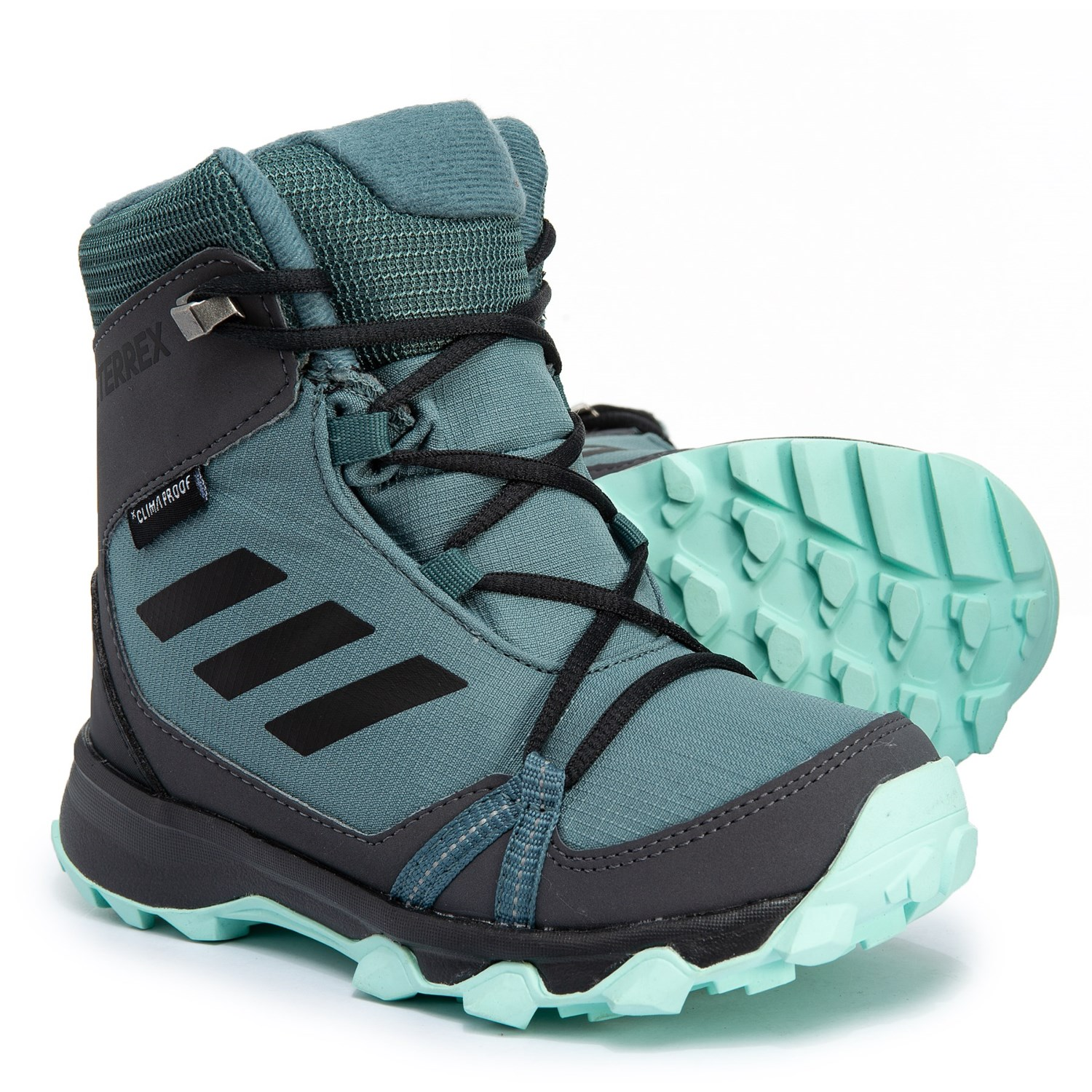 adidas outdoor Terrex Snow ClimaProof® ClimaWarm® Snow Boots - Waterproof,  Insulated (For Little and Big Kids)