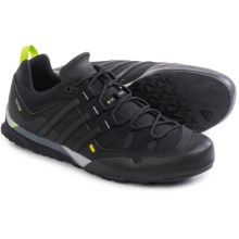 adidas outdoor Terrex Solo Hiking Shoes (For Men) in Black/Solar Slime - Closeouts
