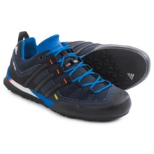 adidas outdoor Terrex Solo Hiking Shoes (For Men) in Bright Royal/Black/Col. Navy - Closeouts