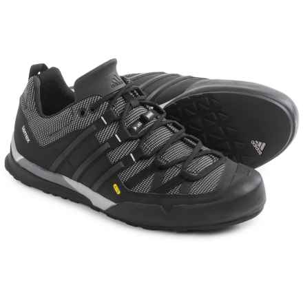 adidas outdoor Terrex Solo Hiking Shoes (For Men) in Vista Grey/Black/Clear Onix - Closeouts