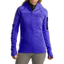adidas outdoor Terrex Stockhorn Fleece Jacket (For Women) in Night Flash - Closeouts