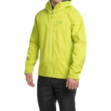 adidas outdoor Terrex Swift Felsfreund Jacket - Waterproof (For Men) in Semi Solar Yellow - Closeouts