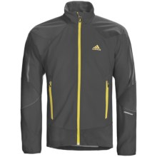 Adidas Outdoor Terrex Swift Hybrid Jacket - Soft Shell (For Men) in Black/Shift Grey/Solid Grey - Closeouts