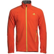 Adidas Outdoor Terrex Swift Jacket - Soft Shell (For Men) in Sharp Orange - Closeouts