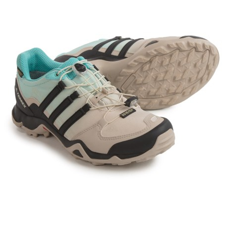 adidas outdoor Terrex Swift R Gore-Tex® Trail Running Shoes - Waterproof (For Women) in Clear Brown/Black/Easy Mint