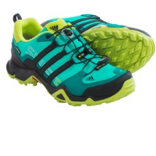adidas outdoor Terrex Swift R Gore-Tex® Trail Running Shoes - Waterproof (For Women) in Vivid Mint/Black/Semi Solar Slime - Closeouts