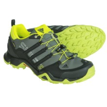 adidas outdoor Terrex Swift R Gore-Tex® XCR® Trail Running Shoes - Waterproof (For Men) in Base Green/Black/Semi Solar Yellow - Closeouts