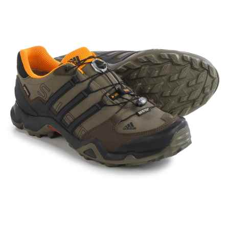 adidas outdoor Terrex Swift R Gore-Tex® XCR® Trail Running Shoes - Waterproof (For Men) in Branch/Black/Umber - Closeouts