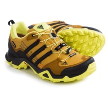 adidas outdoor Terrex Swift R Gore-Tex® XCR® Trail Running Shoes - Waterproof (For Men) in Raw Ochre/Black/Solar Yellow - Closeouts