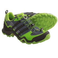 adidas outdoor Terrex Swift R Gore-Tex® XCR® Trail Running Shoes - Waterproof (For Men) in Semi Solar Green/Black/Black - Closeouts