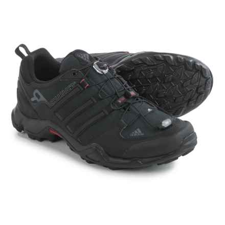 adidas outdoor Terrex Swift R Trail Running Shoes (For Men) in Black/Power Red/Dark Grey - Closeouts