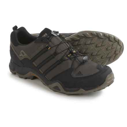 adidas outdoor Terrex Swift R Trail Running Shoes (For Men) in Branch/Black/Umber - Closeouts