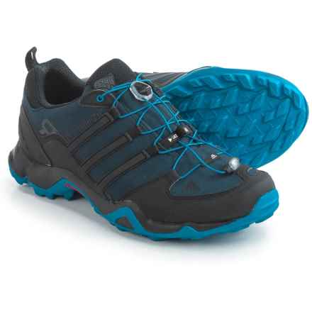 adidas outdoor Terrex Swift R Trail Running Shoes (For Men) in Collegiate Navy/Black/Shock Blue - Closeouts
