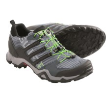 adidas outdoor Terrex Swift R Trail Running Shoes (For Men) in Dark Onix/Black/Semi Solar Green - Closeouts