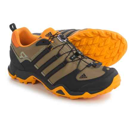 adidas outdoor Terrex Swift R Trail Running Shoes (For Men) in Earth/Black/Eqt Orange - Closeouts