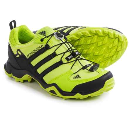adidas outdoor Terrex Swift R Trail Running Shoes (For Men) in Semi Solar Slime/Core Black/Chalk White - Closeouts