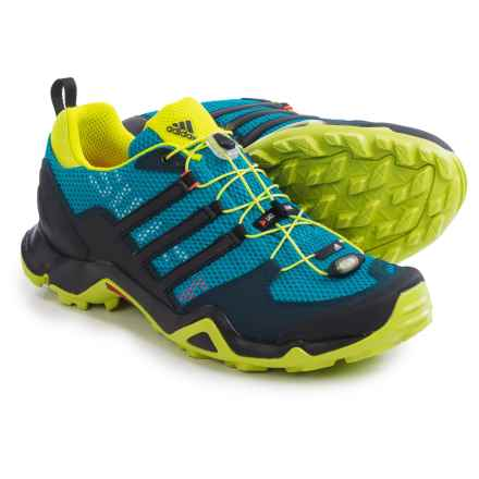 adidas outdoor Terrex Swift R Trail Running Shoes (For Men) in Solar Blue/Black/Semi Solar Yellow - Closeouts