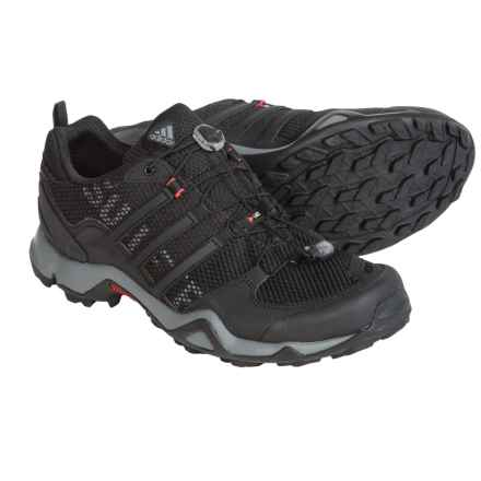 adidas outdoor Terrex Swift R Trail Running Shoes (For Men) in Vista Grey/Black/Solar Red - Closeouts