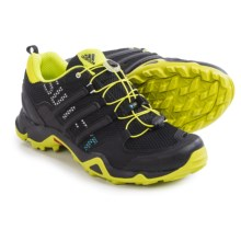 adidas outdoor Terrex Swift R Trail Running Shoes (For Women) in Black/Semi Solar Yellow/Chalk White - Closeouts