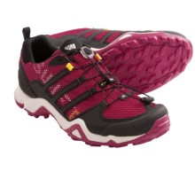 Adidas Outdoor Terrex Swift R Trail Running Shoes (For Women) in Vivid Red/Black/Pride Pink - Closeouts