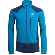 Adidas Outdoor Terrex Swift Speed Jacket (For Men) in Sharp Blue/Solid Blue - Closeouts