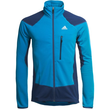 Adidas Outdoor Terrex Swift Speed Jacket (For Men) in Sharp Blue/Solid Blue