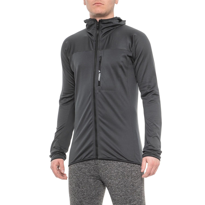 adidas outdoor Terrex Tracerocker Fleece Hoodie (For Men