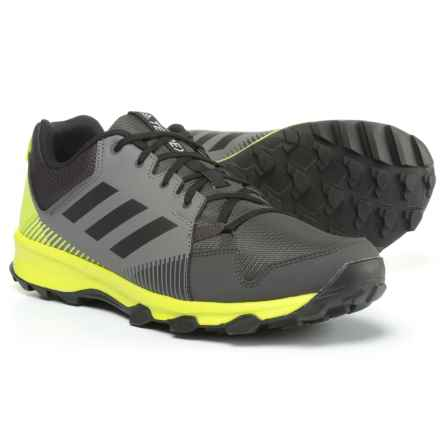 adidas outdoor Terrex Tracerocker Trail Running Shoes (For Men) in Grey Four/Black/Semi Solar Yellow - Closeouts