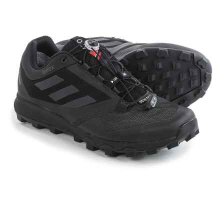 adidas outdoor Terrex Trailmaker Gore-Tex® Trail Running Shoes - Waterproof (For Men) in Black/Vista Grey/Utility Black - Closeouts