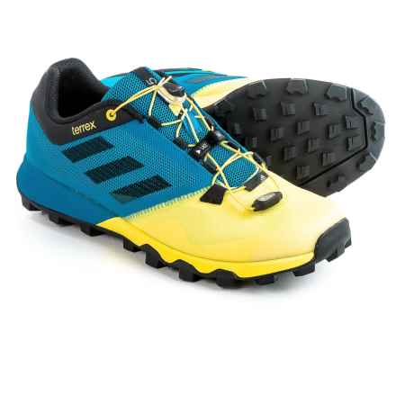 adidas outdoor Terrex Trailmaker Trail Running Shoes (For Men) in Shock Blue/Core Black/Bright Yellow - Closeouts