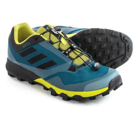 adidas outdoor Terrex Trailmaker Trail Running Shoes (For Men) in Tech Steel/Black/Unity Lime - Closeouts