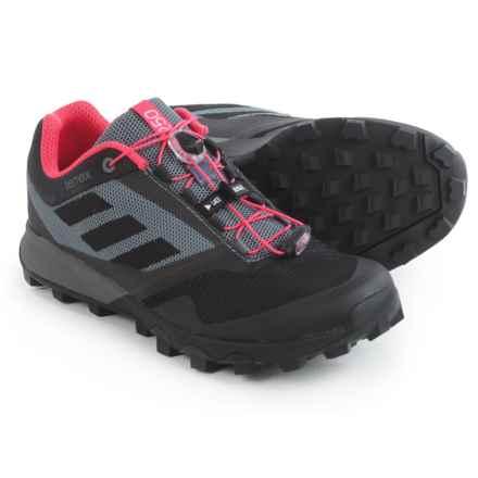 adidas outdoor Terrex Trailmaker Trail Running Shoes (For Women) in Vista Grey/Black/Super Blush - Closeouts