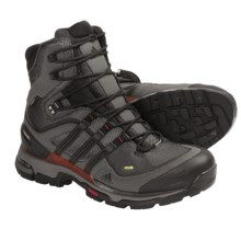 Adidas Outdoor Terrex Trek FM Gore-Tex® Hiking Boots - Waterproof (For Men) in Solid Grey/Black/Sharp Orange - Closeouts