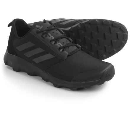 adidas outdoor Terrex Voyager DLX Trail Running Shoes (For Men) in Black/Vista Grey/Black - Closeouts