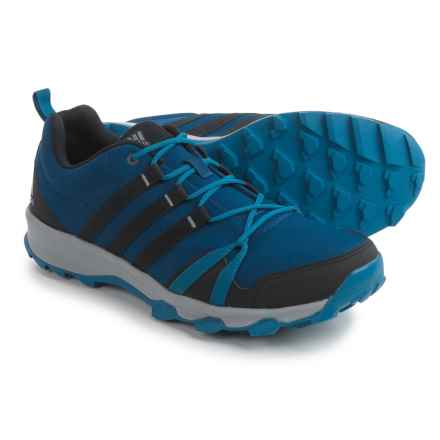 adidas outdoor Tracerocker Trail Running Shoes (For Men) in Mystery Blue/Black/Grey - Closeouts