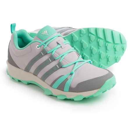 adidas outdoor Tracerocker Trail Running Shoes (For Women) in Ice Purple/Ch Solid Grey/Easy Green - Closeouts