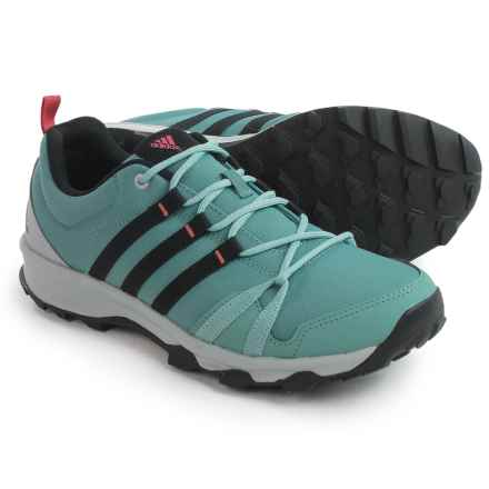 adidas outdoor Tracerocker Trail Running Shoes (For Women) in Vapour Steel/Core Black/Tactile Pink - Closeouts