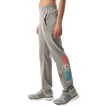 adidas outdoor Ultimate Fleece Printed Joggers (For Women) in Mgh Solid Grey - Closeouts
