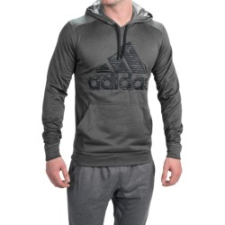 Adidas Outdoor Ultimate Logo Mens Hoodie in Grey or Green