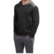adidas outdoor Ultimate Pullover Hoodie (For Men) in Black/Solid Dark Grey - Closeouts